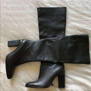 Zara slouchy boots!!